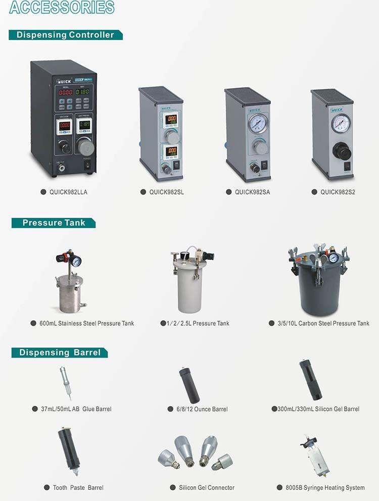 QUICK 8100 1-axis dispensing robot
