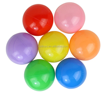 5cm,6cm,7cm,8cm plastic ball,PE soft ball for ball pit