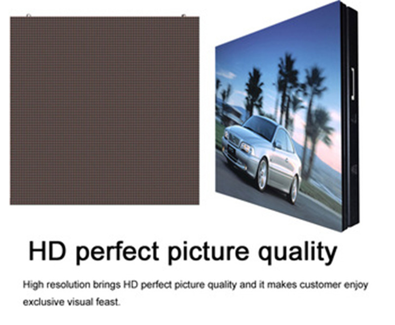 High Brightness Chinese Xvideos Hd Full Color Led Display Rs485 P10