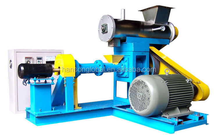 Floating fish animal cattle chicken feed pellet making machine in bangladesh