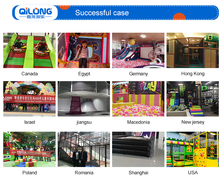 Indoor Playground Manufacturers Play Area , Indoor Trampoline Playground Equipment