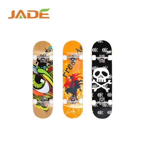Hot sale 31' parts longboard china factory maple skateboard with 4wheels