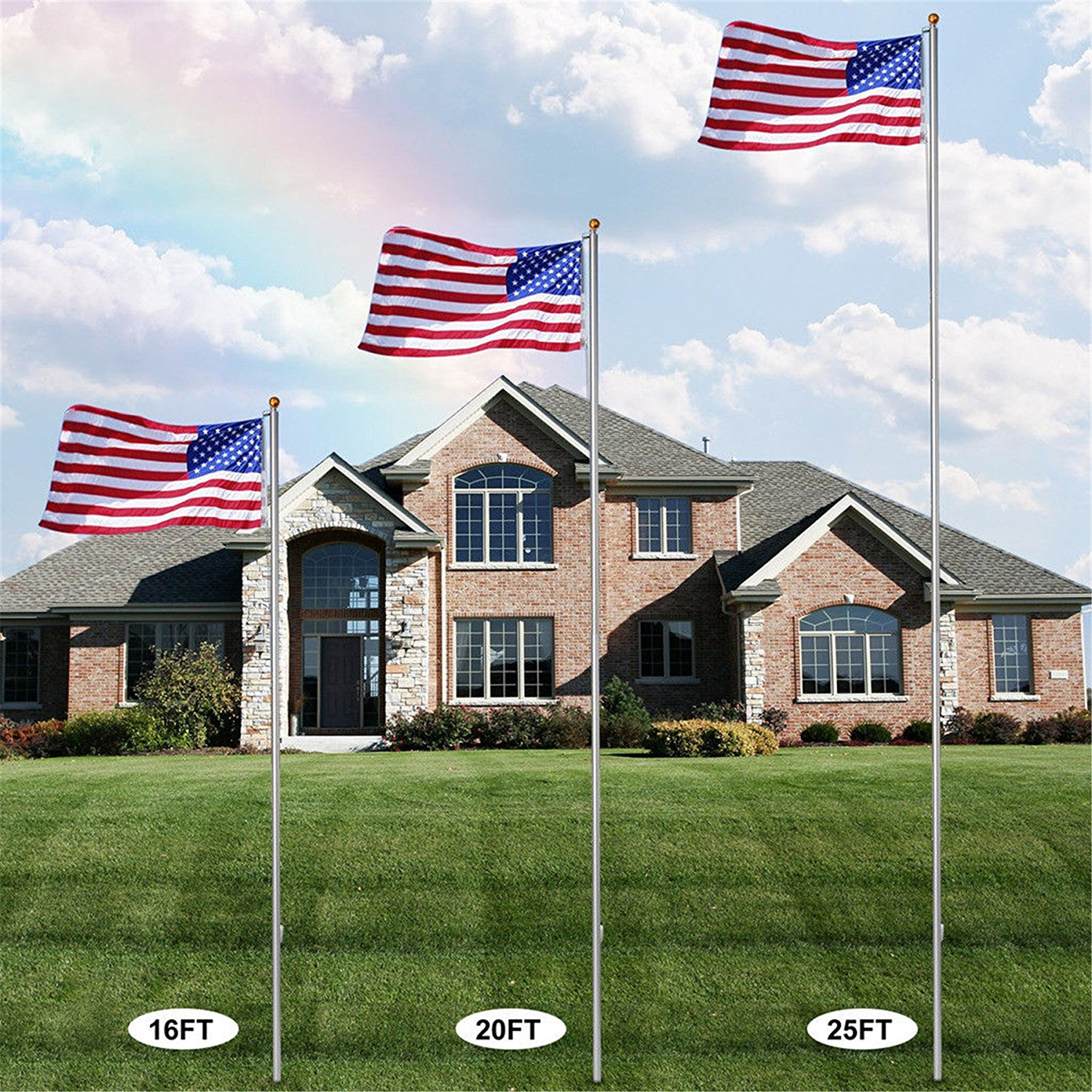 Cheap 30 Ft Flag Pole, find 30 Ft Flag Pole deals on line at