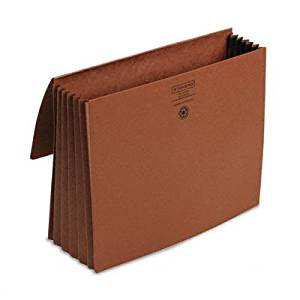 """5 1/5 in Expansion Wallets, Redrope, Letter - 8.5"""" x 11"""" - 5.25"""" Expansion [Set of 2]"""
