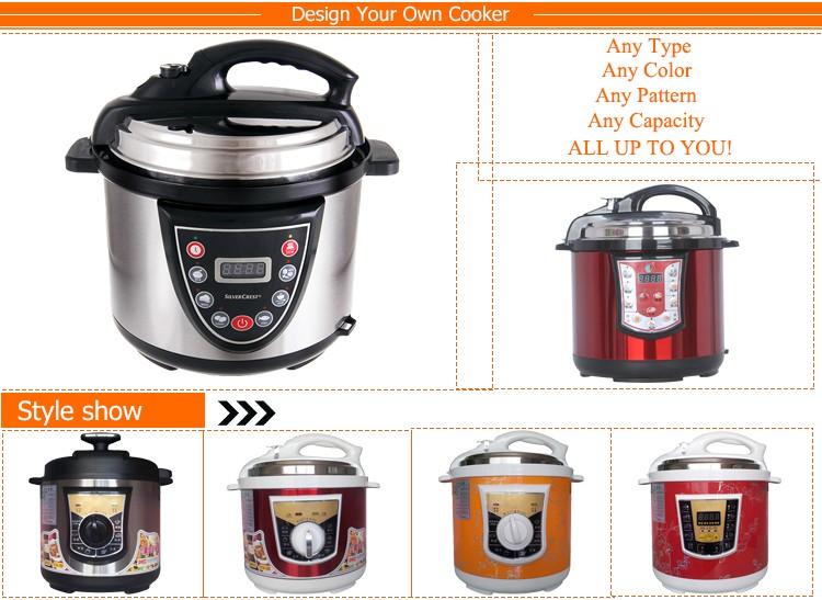presto electric pressure cooker manual