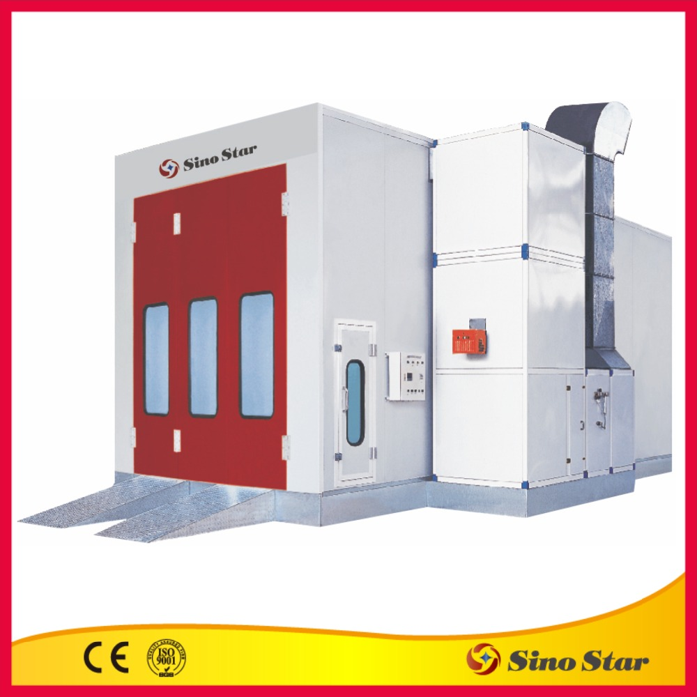 Top one sales diesel spray booth for garage usage (SS-7202-CE)