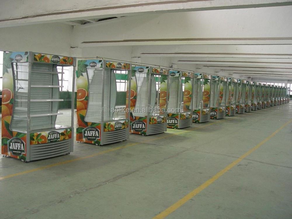 Mini Kühlschrank Offen : Vorne offen luftschleier impuls multideck display schaufenster