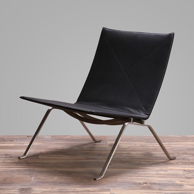 Replica Moderna Pk 22 Cadeira Pk22,Cadeira Em Couro Por Poul Kjaerholm - Buy Pk22 Lounge Chair,Cadeira 22 Pk,Pk 22 Réplica Moderna Cadeira Product on Alibaba.com