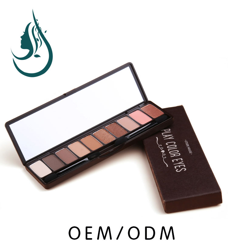 <strong>Cosmetic</strong> & Makeup 10 Colors Neutral Warm Nudes Eyeshadow Palette