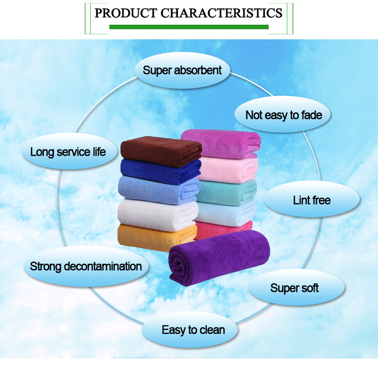 Reliable quality printed microfiber face towel