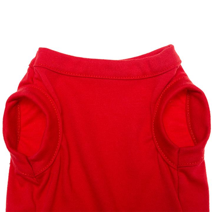 Wholesale Free Shipping Cotton Plain Dog Shirt Summer Clothes Blank Dog Shirts