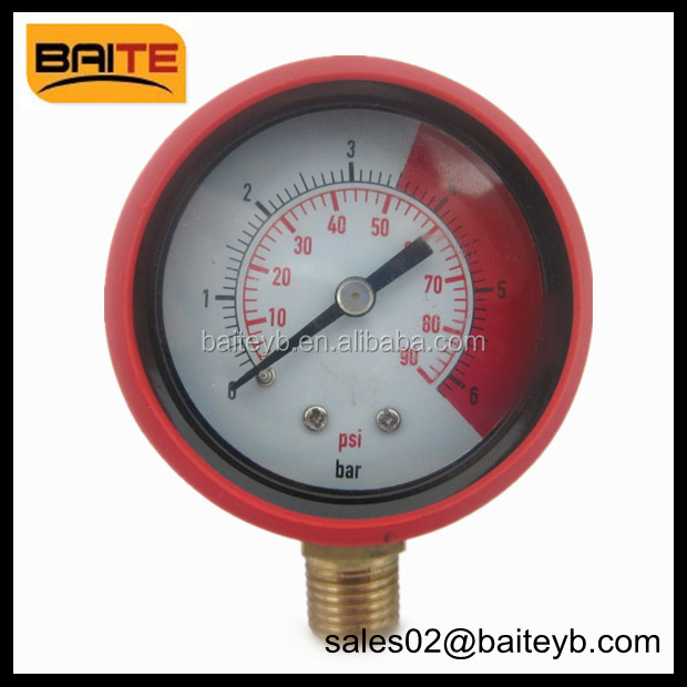 Pressure gauge rubber cover