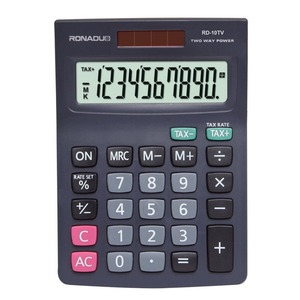 function tables calculator 10-digit desktop calculator solar cell RD-10TV wholesale hair color calculator