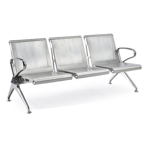 High Quality Iron Comfortable Airport Train Station Waiting Chair