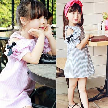 Nuevos Niños Ropa De Algodón Casual Vestido De Rayas De Barbie Juegos De Vestir Para Niñas Buy Ropa Para Niñas Pequeñasvestido De Algodónjuegos De