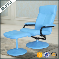 BJTJ blue adjusted freely recliner leisure resting relaxing chair 7859