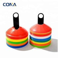 Soccer Disc Cones Multi Color Cone for Agility Training Soccer Football Kids Field Marker