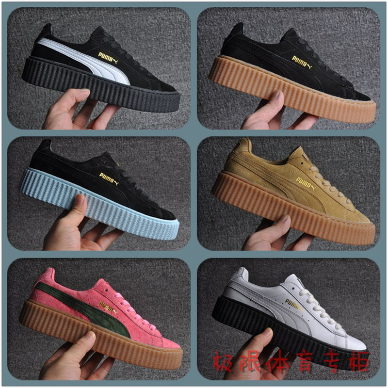 5a1fa6ccc Buy puma shoes rihanna men pink,puma blaze of glory shoes men,Fine ...