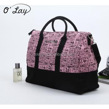 e3579e9d9fd7 Beautiful Ladies Tote Canvas Duffel Bag Weekend Fitness Gym Bag - Buy  Canvas Duffel Bag,Ladies Fitness Gym Bag,Gym Duffel Bag Product on  Alibaba.com