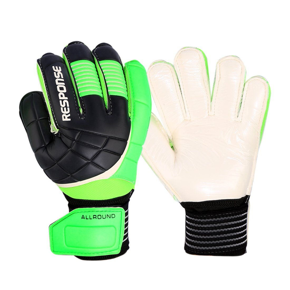 75eb7df2879 Get Quotations · Professional Soccer Goalkeeper Gloves, RuiyiF Latex Finger  Protection Goalie Gloves for Adult Juniors