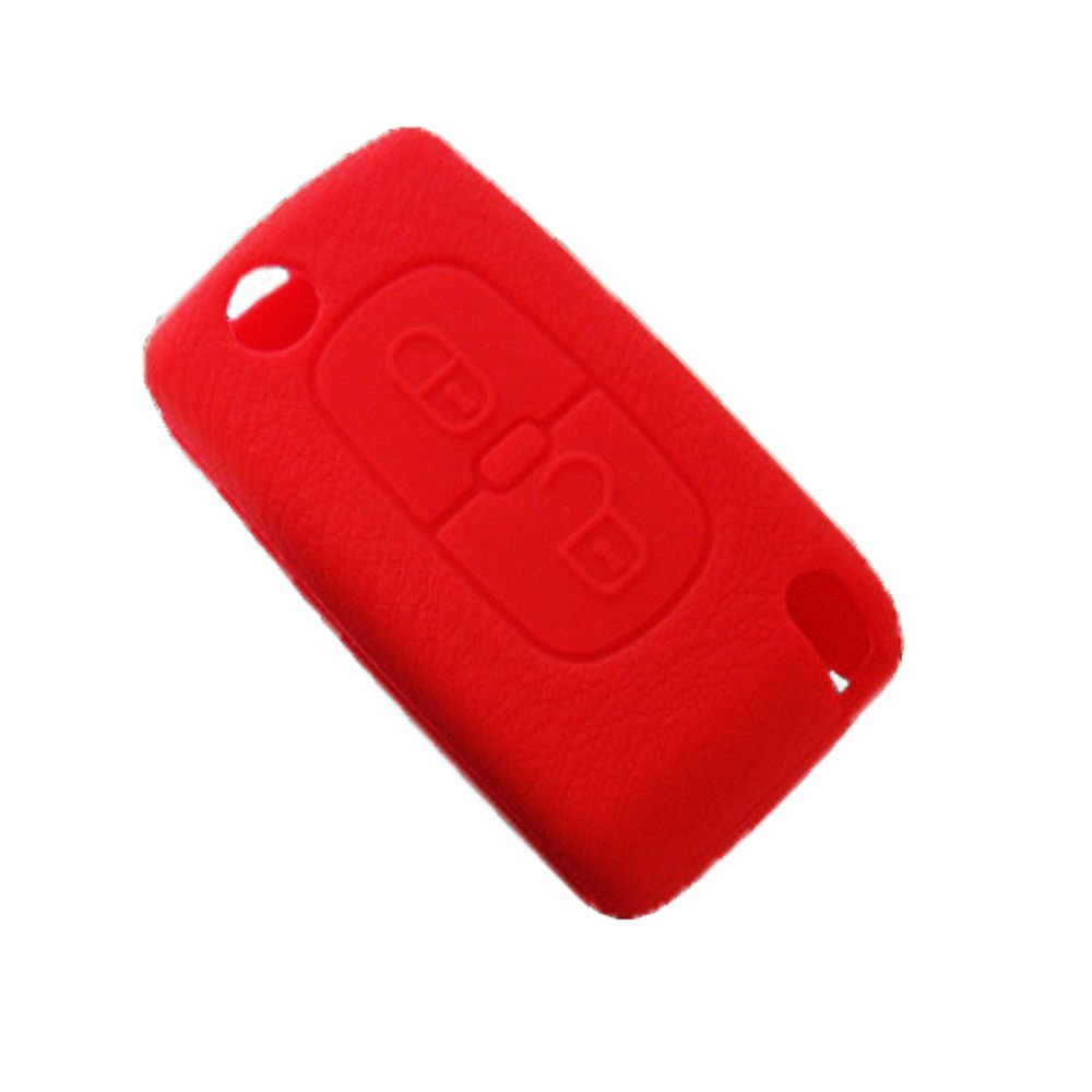 Cheap Red Peugeot Find Deals On Line At Alibabacom 308 Fuse Box Cover Get Quotations 2 Buttons Silicone Remote Key Case Protect Keyless Chains Bag For