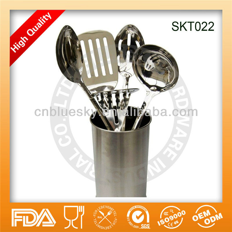 High Quality Stainless Steel Kitchen Utensil Set With