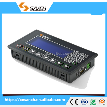 Sanch STP PLC HMI touch screen controller for industrial machine