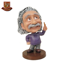 <span class=keywords><strong>Custom</strong></span> made hars ambachten Einstein bobble head beroemde mensen <span class=keywords><strong>bobblehead</strong></span>