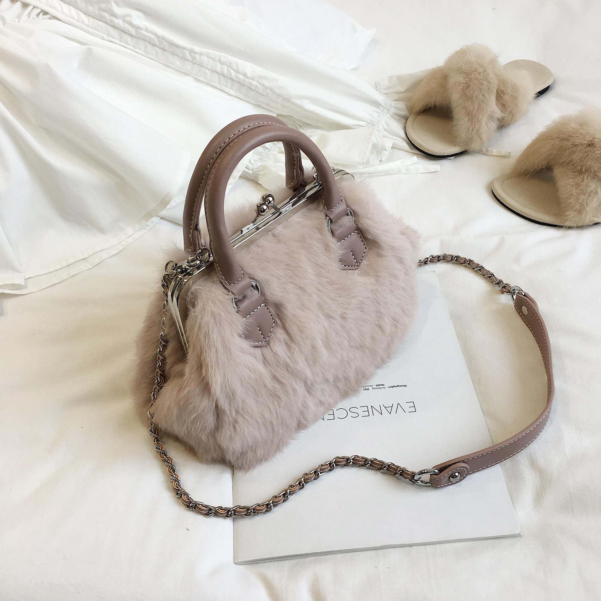 7fe274934ebe Real Fur Handbags