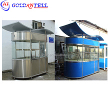 extreme weather protection antisepsis-spraying treatment steel guard shacks parking attendant booths with Flexible layout