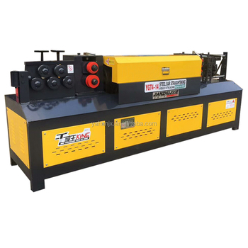 Automatic Rebar Straightener And Cutter Steel Bar Straightening And Cutting  Machine - Buy Steel Bar Cutting And Bending Machine,Round Bar
