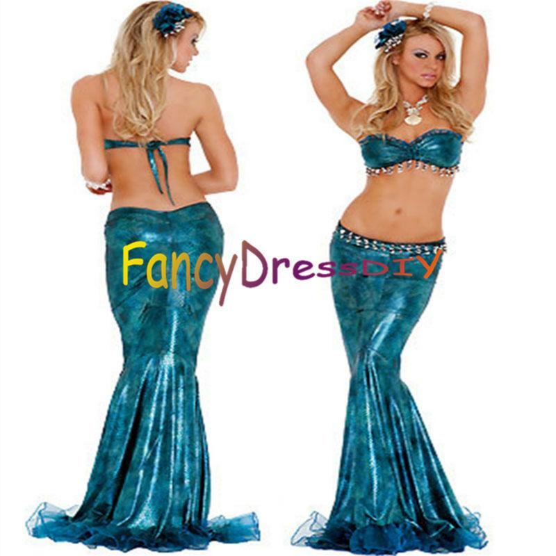 Porn Mermaid Costume 17