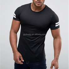 Oem create your own t shirt /plain round neck promotional t-shirt with factory price H-1956