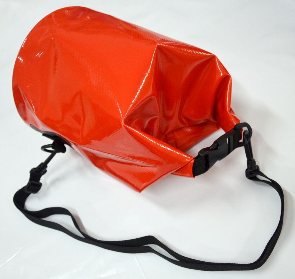 Waterproof Dry Bags - 5 litres 500D PVC Mesh Plastic for swimming drifting