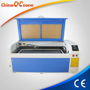Rotary Axis Attached 1040 80W Glass Laser Draw Machine
