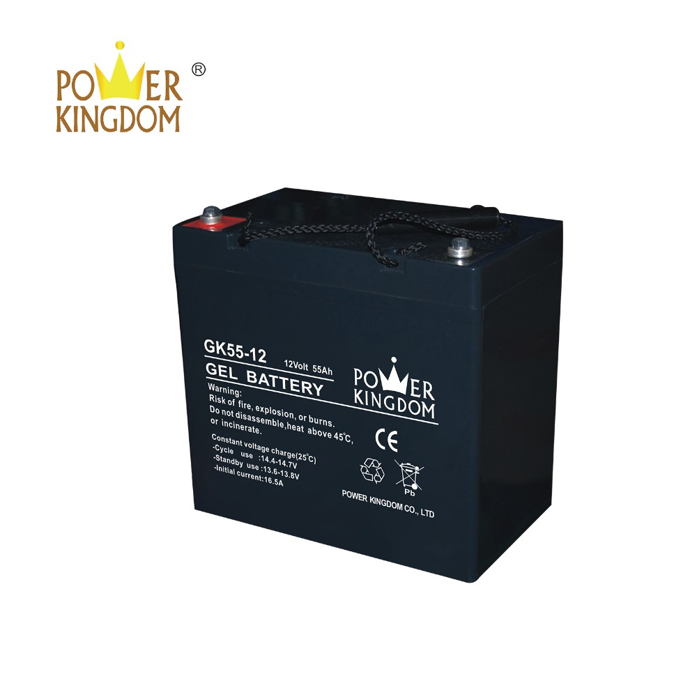 Power Kingdom 6v 3ah sealed lead acid battery company solor system-2