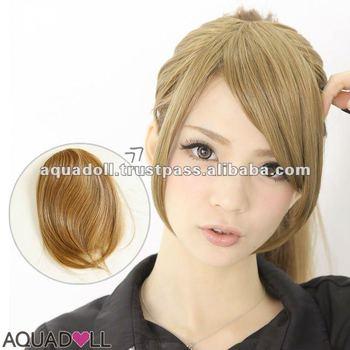 Blonde Black And Various Colors Hair Bangs