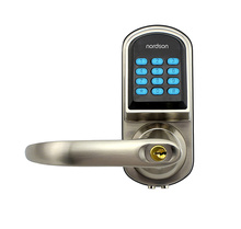 Wireless Remote Control Key Card Intelligent Digital Door Lock