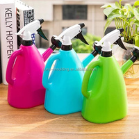 Home and garden decorative mini colorful plastic watering can