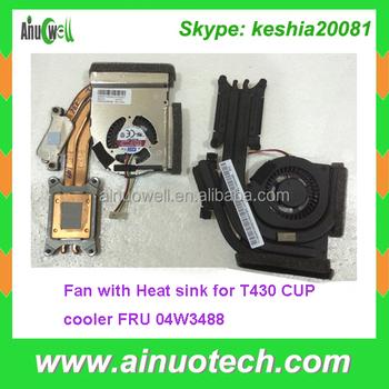Fru 04w3488 Laptop Internal Fan For Lenovo T430 Laptop Heat Sink T530 T420  T410 E420 L420 U410 Laptop Cpu Fan Replacement - Buy 04w3488 Laptop