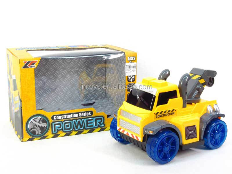 Toys for kids battery operated power construction vehicle toy(2S), engineering truck toys for wholesale, AA018042