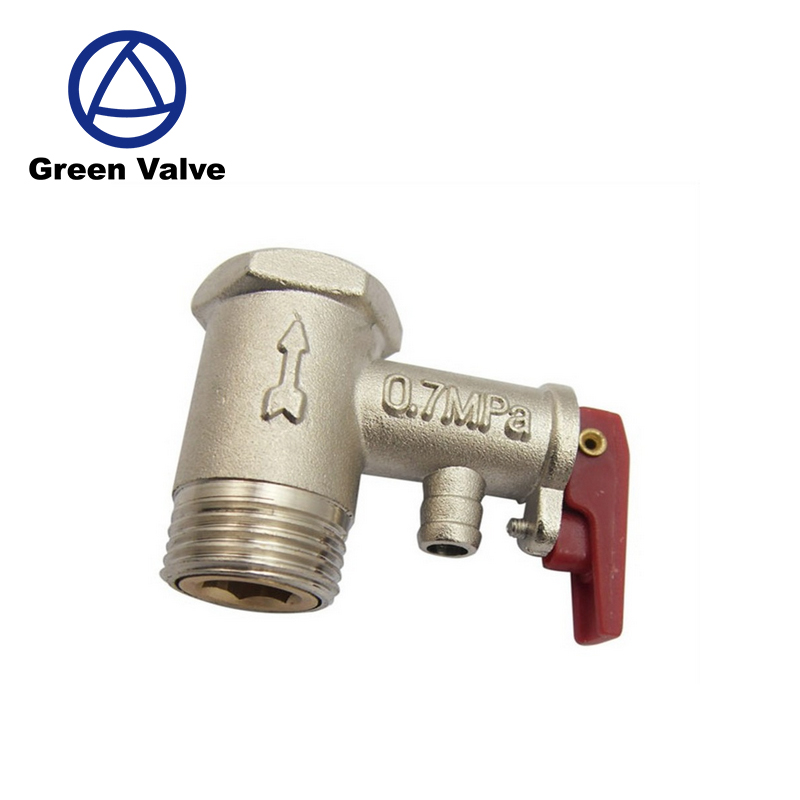 Green-GutenTop GT3007 0.7MPa water heater brass boiler safety valve