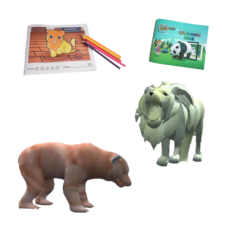 Venta Al Por Mayor Animales Para Colorear En Ingles Compre Online