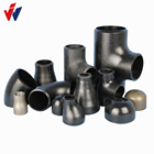 Concentric Reducer Carbon Pipe Fitting Black Pipe Fittings Concentric Reducer Black Paint Carbon Steel Pipe Fitting