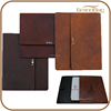 Hot Selling For Ipad2 ipad3 genuine cowhide Leather Case New for ipad case smart flip cover