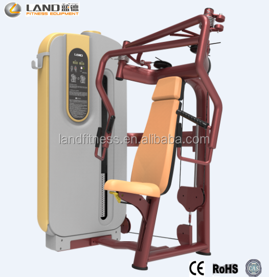 2016 Land <strong>Fitness</strong> Best Selling Chest Press/ Commercial Gym Equipment/ <strong>Fitness</strong> Machine