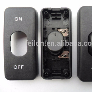 DC connector whiter/black 250V/4A cord in_inline switch