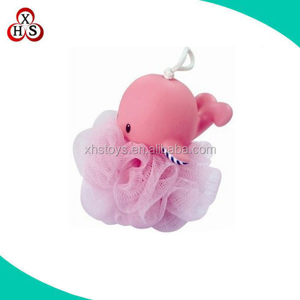 2015 Top Seller Fun-looking Baby Sponge Brush