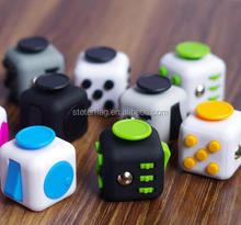 magic Fidget Cube stress relief plastic toy, fight spinner Fidget Cube