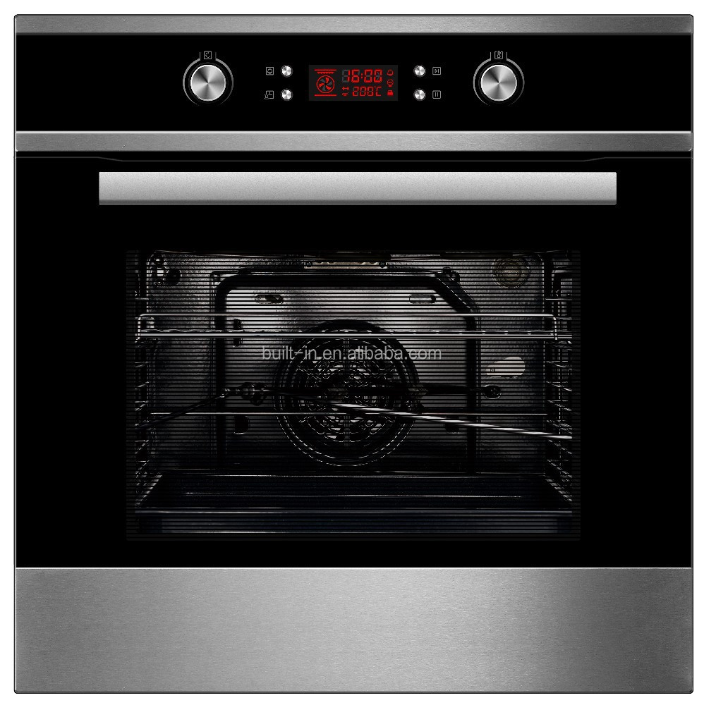 60cm 70L Pyrolytic Built-in Oven Electric Oven with Nine Functions Programmes with Convection Grilling